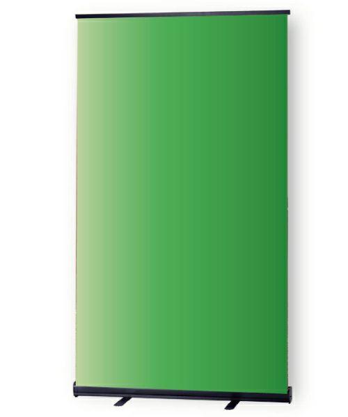 ロールスクリーン型グリーンバック